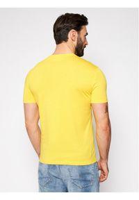 Armani Exchange T-Shirt 8NZTCJ Z8H4Z 1620 Żółty Regular Fit. Kolor: żółty