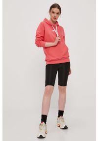 Różowa bluza Prosto. z długim rękawem, długa