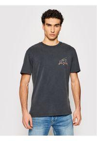 Tommy Jeans T-Shirt Diamond Back Logo DM0DM10622 Szary Regular Fit. Kolor: szary