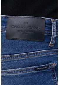 Cross Jeans - Jeansy bawełniane Scott. Kolor: niebieski