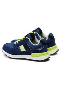 U.S. Polo Assn - Sneakersy U.S. POLO ASSN. - Joe JOE4097S1/HM1 Roy. Okazja: na co dzień. Kolor: niebieski. Materiał: materiał. Szerokość cholewki: normalna. Styl: casual