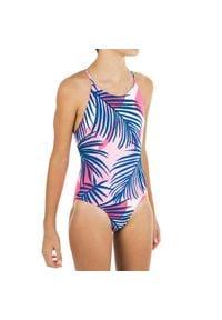 NABAIJI - Strój Jednoczęściowy Pływacki Lila Sola Dla Dzieci. Kolor: wielokolorowy, różowy, czerwony. Materiał: poliamid, materiał, poliester, elastan