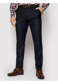 Niebieskie spodnie garniturowe Oscar Jacobson