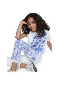 Białe jeansy Desigual