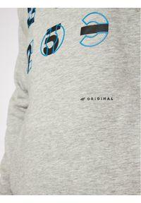 4f - 4F Bluza H4L21-BLM014 Szary Regular Fit. Kolor: szary