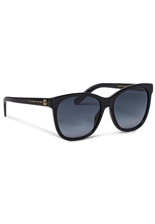 Okulary przeciwsłoneczne MARC JACOBS - 527/S Black 807. Kolor: czarny