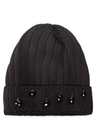 Czarna czapka zimowa Gino Rossi
