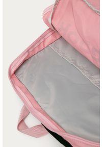 Reebok - Plecak. Kolor: różowy. Materiał: materiał, poliester. Wzór: nadruk #4