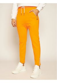 Pomarańczowe spodnie dresowe Rage Age