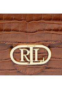 Lauren Ralph Lauren - Torebka LAUREN RALPH LAUREN - Addie 431818573002 Tan. Kolor: brązowy. Materiał: skórzane. Styl: wizytowy