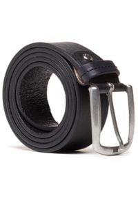 U.S. Polo Assn - Pasek Męski U.S. POLO ASSN. - Dallas Men's Belt WIUDX2165MHA000 Black. Kolor: czarny. Materiał: skóra