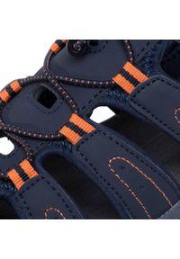 Niebieskie sandały trekkingowe Hi-tec na lato