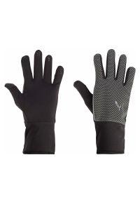 Rękawiczki do biegania Energetics Barlon IV 416082. Materiał: skóra, materiał. Wzór: nadruk. Sport: fitness
