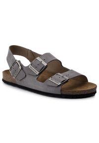 Szare sandały Nik na lato