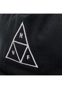 Czapka z daszkiem HUF - Ess. Unstructured Tt Snap HT00543 Black. Kolor: czarny. Materiał: materiał, bawełna