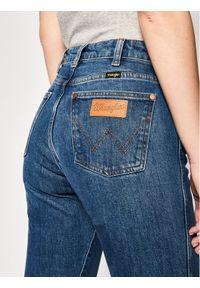 Niebieskie jeansy slim Wrangler retro #5