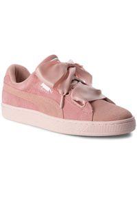 Różowe buty sportowe Puma Suede, na co dzień