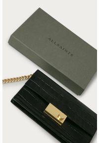Czarny portfel AllSaints