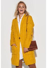 Żółty sweter Makadamia