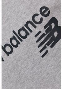 New Balance - Bluza. Okazja: na co dzień. Kolor: szary. Styl: casual