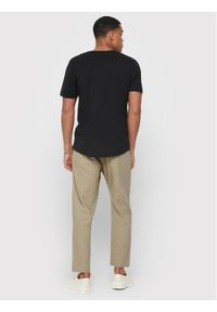 Only & Sons - ONLY & SONS Spodnie materiałowe Leo 22013002 Beżowy Regular Fit. Kolor: beżowy. Materiał: materiał
