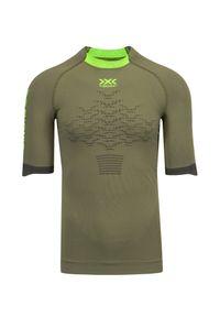 X-Bionic - Koszulka męska X-BIONIC THE TRICK 4.0 RUNNING. Materiał: dzianina, skóra, materiał. Sport: bieganie