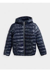 Niebieska kurtka zimowa 4f