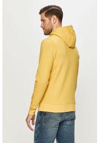 Żółta bluza nierozpinana s.Oliver na co dzień, casualowa, z nadrukiem