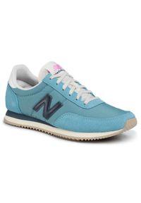 Niebieskie buty sportowe New Balance z cholewką, na co dzień