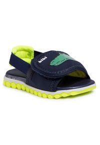 Niebieskie sandały Bibi na lato