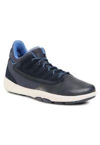 Geox Sneakersy U Modual B Abx A U948LA 046FU C4002 Granatowy. Kolor: niebieski