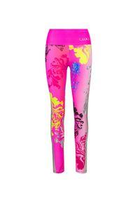 Sportalm - Leginsy SPORTALM CREW. Kolor: różowy. Materiał: tkanina