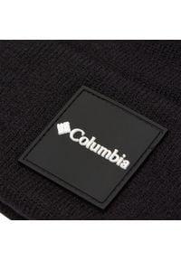 columbia - Czapka COLUMBIA - City Trek™ Graphic Beanie CU0213 Black 010. Kolor: czarny. Materiał: nylon, elastan, materiał, wełna, akryl