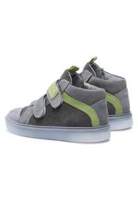 RenBut - Trzewiki RENBUT - 23-3225 Grey Green/Popiel Zielony. Kolor: szary. Materiał: skóra, nubuk, zamsz. Szerokość cholewki: normalna. Sezon: zima, jesień