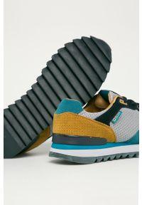 Niebieskie buty sportowe Big-Star na sznurówki, z okrągłym noskiem