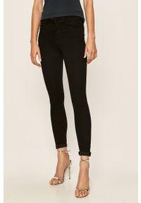Czarne jeansy Jacqueline de Yong w kolorowe wzory