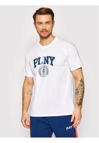 PLNY Textylia T-Shirt Stanford Tee PT-KO-CL-00224 Biały Regular Fit. Kolor: biały