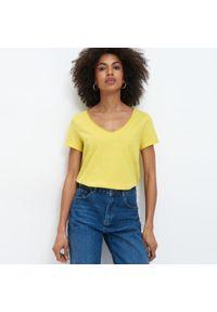 Żółta bluzka Mohito #1