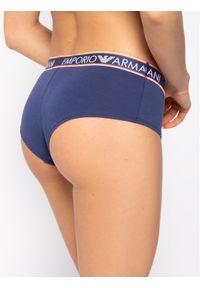 Niebieskie bokserki Emporio Armani Underwear