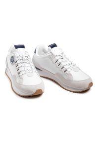 North Sails - Sneakersy NORTH SAILS - RW-04 First White 047. Okazja: na co dzień. Kolor: biały. Materiał: zamsz, materiał, skóra. Szerokość cholewki: normalna. Styl: casual, elegancki