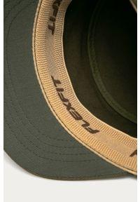 Zielona czapka z daszkiem Kangol