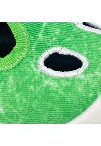 Zielone kapcie Superfit z aplikacjami
