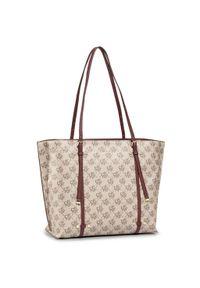 Beżowa torebka klasyczna DKNY