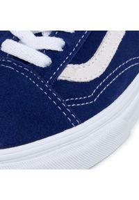 Niebieskie półbuty Vans z cholewką #7