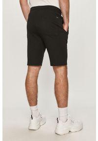 Czarne szorty Only & Sons na co dzień, sportowe, gładkie