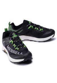 Czarne buty do biegania Merrell z cholewką