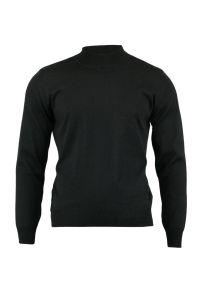 Czarny sweter MM Classic klasyczny