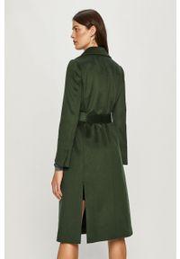 Zielony płaszcz MAX&Co. na co dzień, bez kaptura, casualowy