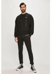 Czarne spodnie Calvin Klein Jeans gładkie