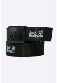Czarny pasek Jack Wolfskin